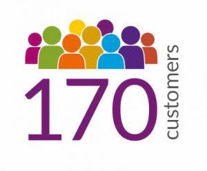 170 Customers